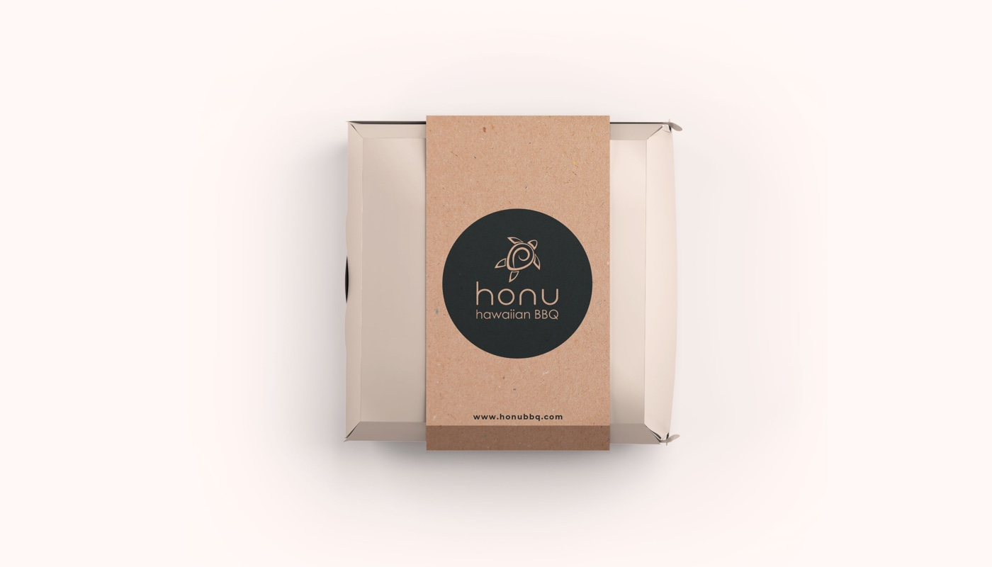 Magicflow Studio | Honu BBQ Packaging Design