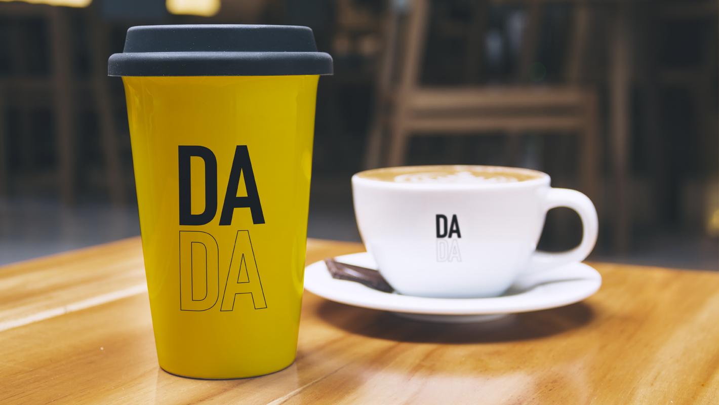 DADA coffee branding
